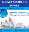Abstract submissions for ICPS2020 – extended until Monday 9th March!